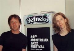 Backstage Montreux Jazz Festival